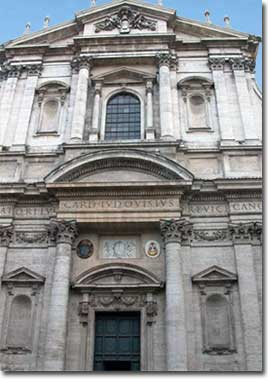 The church of St. Ignatius - abcRoma.com